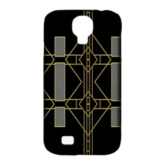 Simple Art Deco Style Art Pattern Samsung Galaxy S4 Classic Hardshell Case (pc+silicone)