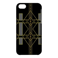 Simple Art Deco Style Art Pattern Apple Iphone 5c Hardshell Case