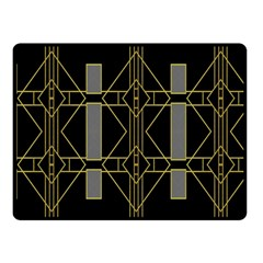 Simple Art Deco Style Art Pattern Double Sided Fleece Blanket (small)  by Nexatart