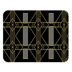 Simple Art Deco Style Art Pattern Double Sided Flano Blanket (large)  by Nexatart