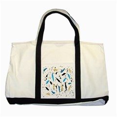 Abstract Image Image Of Multiple Colors Two Tone Tote Bag by Nexatart