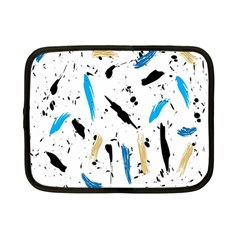 Abstract Image Image Of Multiple Colors Netbook Case (small)  by Nexatart