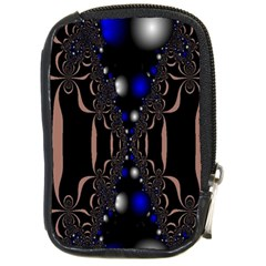 An Interesting Mix Of Blue And Other Colours Balls Compact Camera Cases by Nexatart