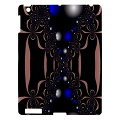 An Interesting Mix Of Blue And Other Colours Balls Apple Ipad 3/4 Hardshell Case