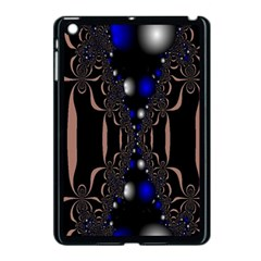 An Interesting Mix Of Blue And Other Colours Balls Apple Ipad Mini Case (black) by Nexatart