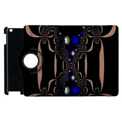 An Interesting Mix Of Blue And Other Colours Balls Apple Ipad 3/4 Flip 360 Case by Nexatart