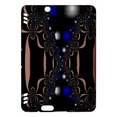 An Interesting Mix Of Blue And Other Colours Balls Kindle Fire Hdx Hardshell Case by Nexatart