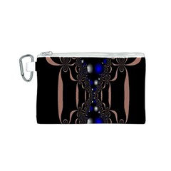 An Interesting Mix Of Blue And Other Colours Balls Canvas Cosmetic Bag (s) by Nexatart
