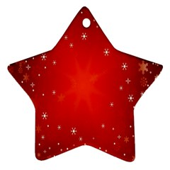 Red Holiday Background Red Abstract With Star Ornament (star)