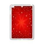 Red Holiday Background Red Abstract With Star iPad Mini 2 Enamel Coated Cases Front