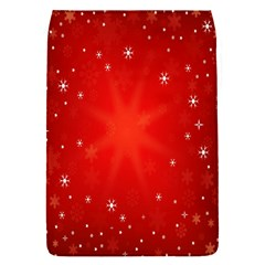 Red Holiday Background Red Abstract With Star Flap Covers (s)  by Nexatart
