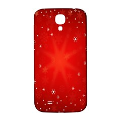 Red Holiday Background Red Abstract With Star Samsung Galaxy S4 I9500/i9505  Hardshell Back Case by Nexatart