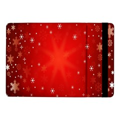 Red Holiday Background Red Abstract With Star Samsung Galaxy Tab Pro 10 1  Flip Case by Nexatart