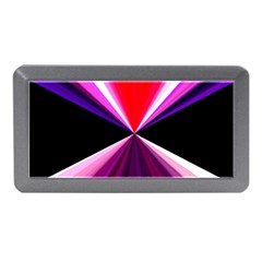 Red And Purple Triangles Abstract Pattern Background Memory Card Reader (mini)