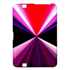 Red And Purple Triangles Abstract Pattern Background Kindle Fire Hd 8 9  by Nexatart