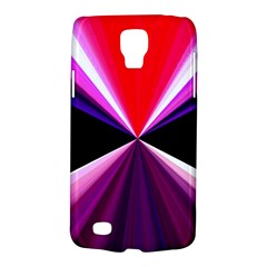 Red And Purple Triangles Abstract Pattern Background Galaxy S4 Active