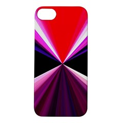 Red And Purple Triangles Abstract Pattern Background Apple Iphone 5s/ Se Hardshell Case
