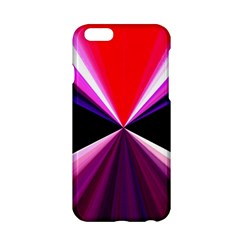Red And Purple Triangles Abstract Pattern Background Apple Iphone 6/6s Hardshell Case