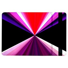Red And Purple Triangles Abstract Pattern Background Ipad Air 2 Flip