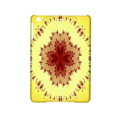 Yellow Digital Kaleidoskope Computer Graphic Ipad Mini 2 Hardshell Cases