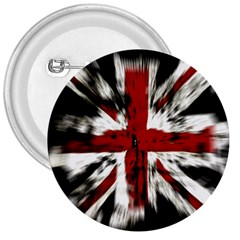 British Flag 3  Buttons by Nexatart