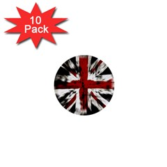 British Flag 1  Mini Buttons (10 Pack)  by Nexatart