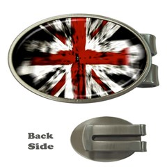 British Flag Money Clips (oval)  by Nexatart