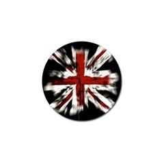 British Flag Golf Ball Marker (10 Pack)