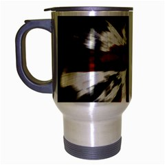British Flag Travel Mug (silver Gray) by Nexatart