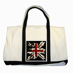 British Flag Two Tone Tote Bag by Nexatart