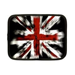British Flag Netbook Case (small)