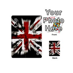 British Flag Playing Cards 54 (mini)
