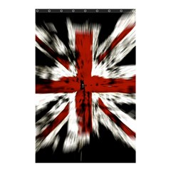 British Flag Shower Curtain 48  X 72  (small)  by Nexatart