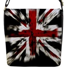 British Flag Flap Messenger Bag (s) by Nexatart