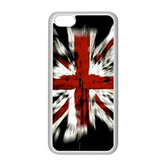 British Flag Apple Iphone 5c Seamless Case (white) by Nexatart