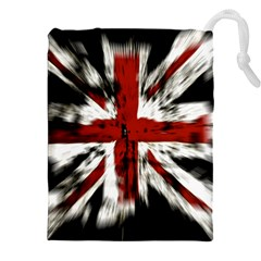 British Flag Drawstring Pouches (xxl) by Nexatart