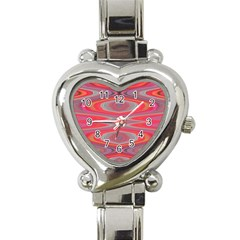 Hard Boiled Candy Abstract Heart Italian Charm Watch