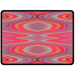 Hard Boiled Candy Abstract Fleece Blanket (large)  by Nexatart