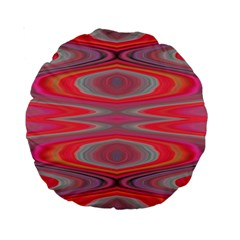 Hard Boiled Candy Abstract Standard 15  Premium Round Cushions
