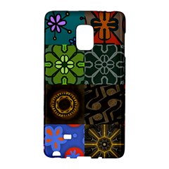 Digitally Created Abstract Patchwork Collage Pattern Galaxy Note Edge by Nexatart