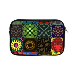 Digitally Created Abstract Patchwork Collage Pattern Apple Macbook Pro 13  Zipper Case by Nexatart
