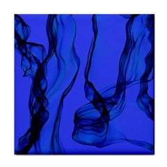 Blue Velvet Ribbon Background Face Towel by Nexatart