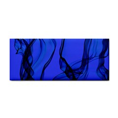 Blue Velvet Ribbon Background Cosmetic Storage Cases