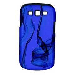 Blue Velvet Ribbon Background Samsung Galaxy S Iii Classic Hardshell Case (pc+silicone) by Nexatart