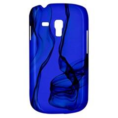 Blue Velvet Ribbon Background Galaxy S3 Mini
