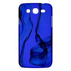 Blue Velvet Ribbon Background Samsung Galaxy Mega 5 8 I9152 Hardshell Case