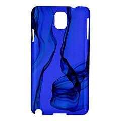 Blue Velvet Ribbon Background Samsung Galaxy Note 3 N9005 Hardshell Case