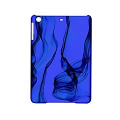 Blue Velvet Ribbon Background Ipad Mini 2 Hardshell Cases by Nexatart