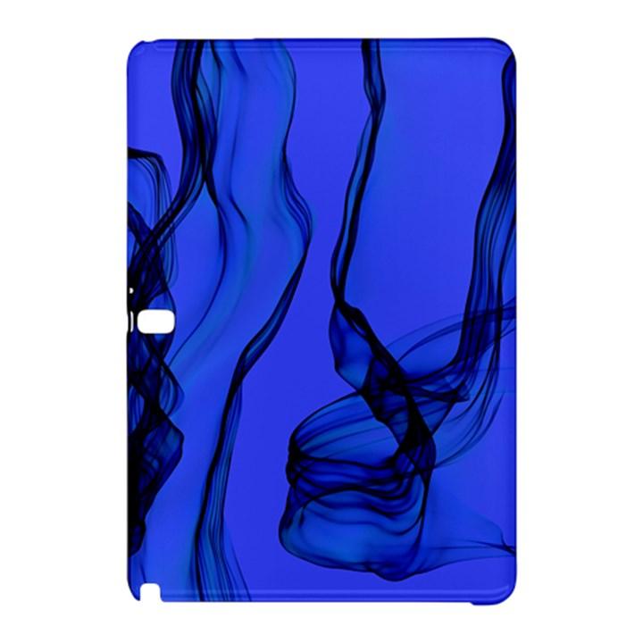 Blue Velvet Ribbon Background Samsung Galaxy Tab Pro 12.2 Hardshell Case