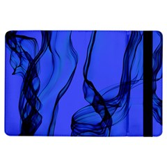 Blue Velvet Ribbon Background Ipad Air Flip by Nexatart